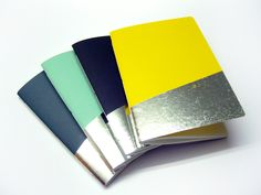 A5 – Silver Notebook – a unique product by Emadam on DaWanda