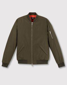 Pull&Bear - man - jackets & blazers - bomber jacket - khaki - 05712565-V2016