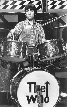 "ONE OF THE GREATEST DRUMMERS EVER!! Even today, Keith Moon (R.I.P.)   ""The Who""  Keith Moon Roger Daultry Pete Townsend John Entwhistle  #thewho #keithmoon #petetownsend @indiefilmacdmy   The Who Links: http://thewho.com/ http://en.wikipedia.org/wiki/The_Who"