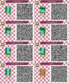 animal crossing qr codes paths brick - Google 검색