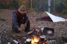 紅葉の森でキャンプ(1日目)|Old Timer な気分で行こう