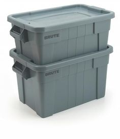 Rubbermaid Opbergboxen Rubbermaid Brute Totes opbergbox 75.5Ltr met deksel grijs FG9S3100-GRY FG9S3100-  sc 1 st  Pinterest & 1-Step Plastic Step Stool with 300 lbs. Duty Rating | Plastic step ... islam-shia.org