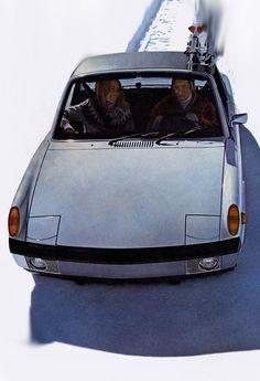 914 Porsche Models, Porsche 914, Porsche Cars, Vintage Porsche, Import Cars, Dream Machine, Old Cars, Fast Cars, Volkswagen
