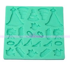 Cheap shoe sole, Buy Quality shoes next directly from China shoes wear long dresses Suppliers: Silicone Wedding Dress Shoes Ring Sugercraft Chocolate Fondant Cake Baking Mold Description