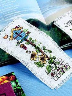 cross stitch bookmark free pattern