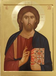 Icon of Jesus Christ the King of All Byzantine Art, Byzantine Icons, Religious Icons, Religious Art, Christ Pantocrator, Images Of Christ, Paint Icon, Sign Of The Cross, Christ The King