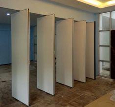 Movable Partition, Partition Walls, Movable Walls, Kitchen Doors, Test Kitchen, Pivot Doors, Sliding Doors, Smart Furniture, Furniture Ideas