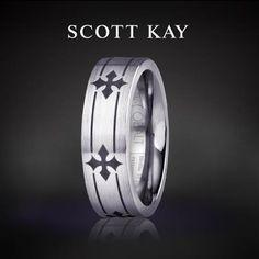 Scott Kay makes great Men's jewelry