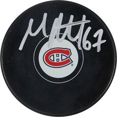Max Pacioretty Signed Montreal Canadiens Puck