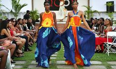 Trinidad Fashion Designers | Pakistani designer Noor Agha from The Noor Collection during a fashion ...