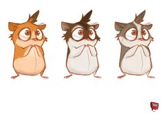 We had a meeting to discuss the initial #character #design and decided our…
