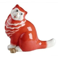 ENESCO NINE LIVES CATS *GLAMOUR PUSS - BANK* A21951