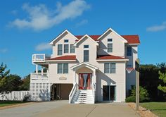 OBXcape. 7 bed, 4 ba. Saturday check-in. $3820/wk Corolla Oceanside. Great set-up with kids in different floors/with parents.