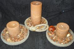 Lariat Rope Candle holders