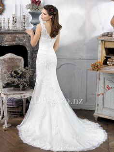 2018 Adding Straps to Wedding Dress - Dressy Dresses for Weddings Check more at http://svesty.com/adding-straps-to-wedding-dress/