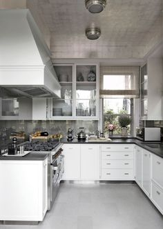Traditional Kitchen by Michael S. Smith Inc. and Ferguson