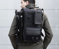 If James Bond needed a backpack to tote his textbooks and laptop to physics class, a Black Ember is what he'd choose. Modular, waterproof, and very, very black, these bags are customizable with an array of accessories and attachments to cater to in