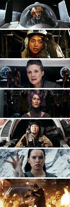 Women of The Last Jedi
