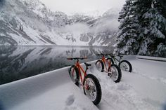 Fat tire biking at it's best.