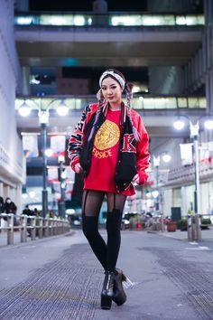 house of holland, ktz, unif, versace Japanese Streets, Japanese Street Fashion, Tokyo Fashion, Harajuku Fashion, Korean Fashion, Harajuku Style, Japan Street, Tokyo Street Style, Shibuya Style