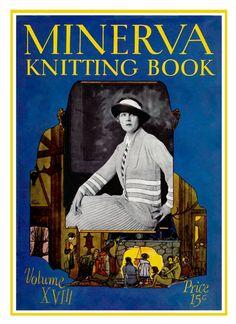 Minerva Knitting Book (18) c.1923 - Autumn Fashion Patterns for Women