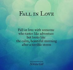 Fall in love with someone... Love love love this! #reallove #soulconnections #love