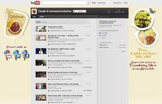 #Layout personalizzato anche per il canale #Youtube di #Crema e #Cioccolato