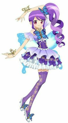 """PriPara: Junon (じゅのん) is an upcoming main character for PriPara Season 3. She is a member of the new unit """"Triangle"""" along with Pinon and 1 more Idol set to be introduced on March 12th."""