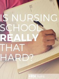 Are you a new #nursingstudent wondering what to expect in nursing school? Is it really as hard as everyone says it is? Click to check out what makes #nursingschool a challenge