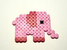 Elefante hama beads | Colección Animales | Chicle Sin Azúcar