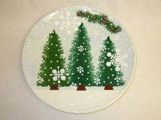 Tr-23 Round Treeline tree platter | Expressly Yours