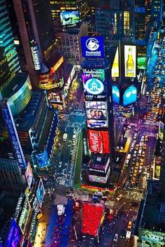 Times Square, NYC - no matter how many times I see a picture of New York or Times Square, I'm always amazed. by jannie