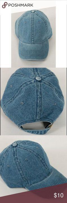 5fc580e0315 ⚜️Just In⚜️Denim Baseball Cap Light Denim Baseball Cap (one size) and