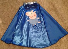 Peppa pig George cape by Oneslittletreasures on Etsy, £14.00