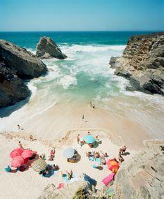Praia Piquinia 31 by Christian Chaize #beach #sea #parasol
