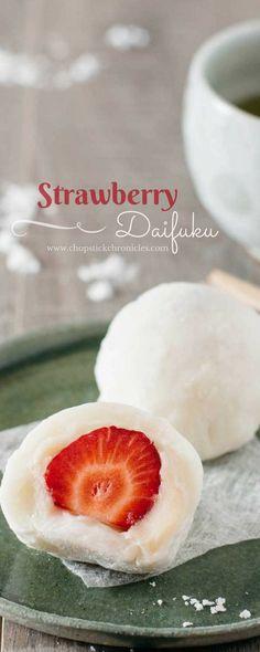 strawberry-daifuku