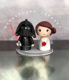 Star Wars Cake Toppers, Cupcakes, Christmas Ornaments, Holiday Decor, Wedding, Mariage, Valentines Day Weddings, Cup Cakes, Christmas Ornament