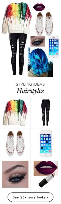 """Untitled #421"" by princess-rajah on Polyvore featuring Converse, women's clothing, women, female, woman, misses and juniors"