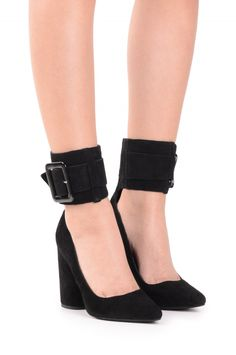 Jeffrey Campbell Shoes KOZUE New Arrivals in Black Black