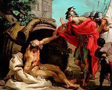 Diogenes and Alexander (Gaetano Gandolfi).
