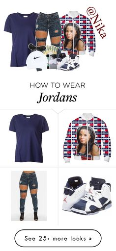"""""""Untitled"""" by liveitup-167 on Polyvore featuring Beau Souci and NIKE"""