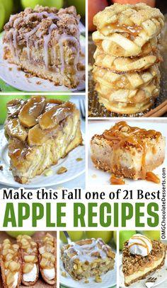 Best Apple Recipes, Apple Crisp Recipes, Apple Dessert Recipes, Fruit Recipes, Fall Recipes, Favorite Recipes, Appetizer Recipes, Baking Recipes, Breakfast Recipes