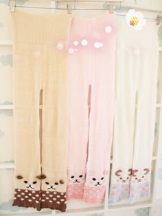 Fabric: Feather yarn  One size: Suitable for 150-165cm Trousers length is about 98cm