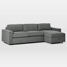 Urban Sleeper Sectional w/ Storage