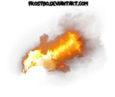 Fire Stock 09 by FrostBo