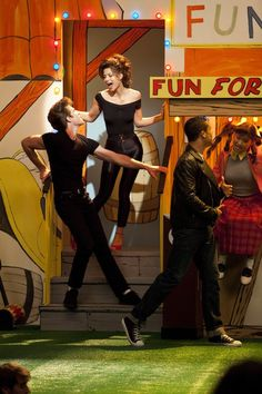 FIRST LOOK - Ryder + Marley as Danny and Sandy from 'Grease'