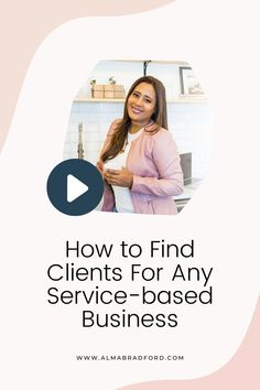 In this video, I explain the different ways you can find clients as a Social Media Manager, Virtual Assistant, Website Designer, Blog Writer, Freelancer or Consultant. Business Goals, Business Tips, Business Women, Business Marketing, Internet Marketing, Online Marketing, Online Business From Home, How To Get Clients, Work From Home Tips