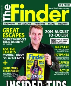 The Finder Singapore August 2014 edition - Read the digital edition by Magzter on your iPad, iPhone, Android, Tablet Devices, Windows 8, PC, Mac and the Web.