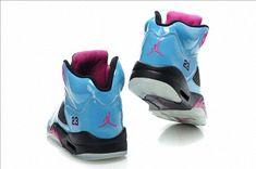 promo code 2b0fc 92577 Air Jordan V GS Auqua Electric Teal Pink Flash Jordan V, Jordan Shoes,  Fußballschuhe
