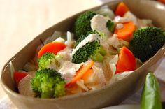 温野菜サラダ Broccoli, Mashed Potatoes, Salad, Vegetables, Healthy, Ethnic Recipes, Food, Whipped Potatoes, Meal